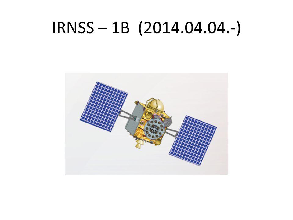 IRNSS – 1B (2014.04.04.-)