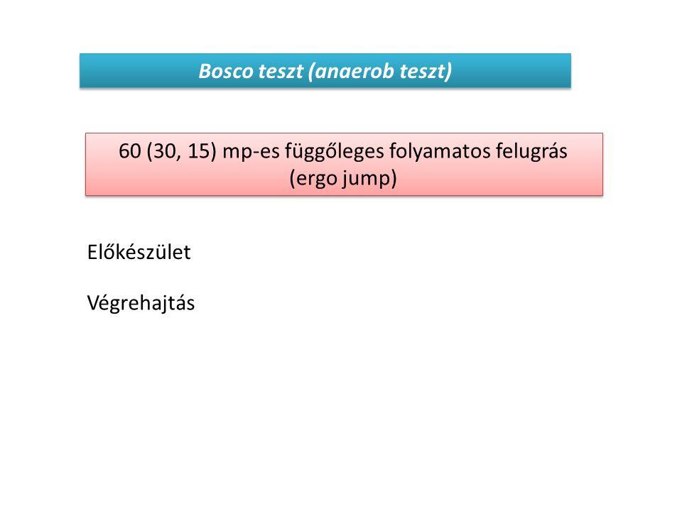 Bosco teszt (anaerob teszt)