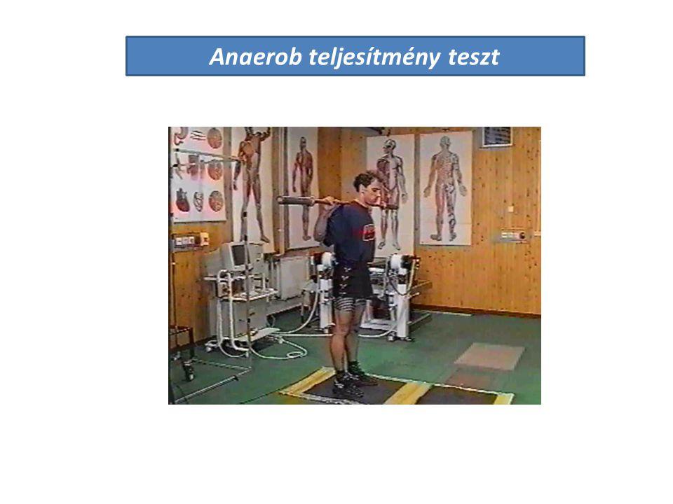 Anaerob teljesítmény teszt
