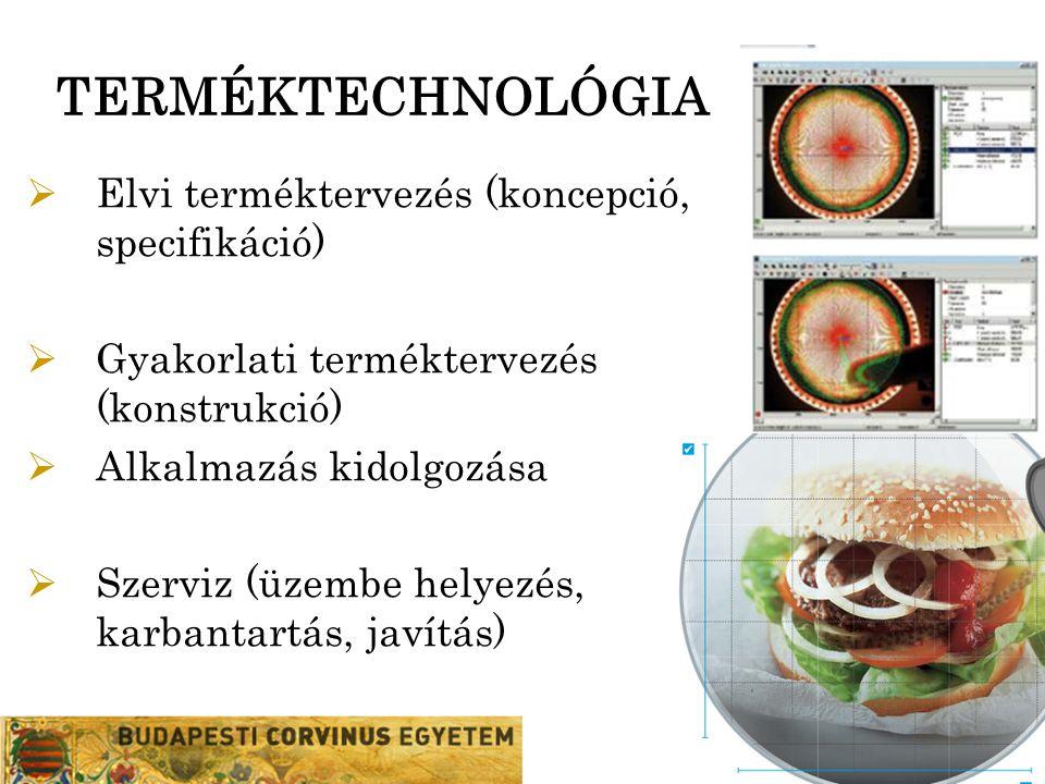 TERMÉKTECHNOLÓGIA Elvi terméktervezés (koncepció, specifikáció)