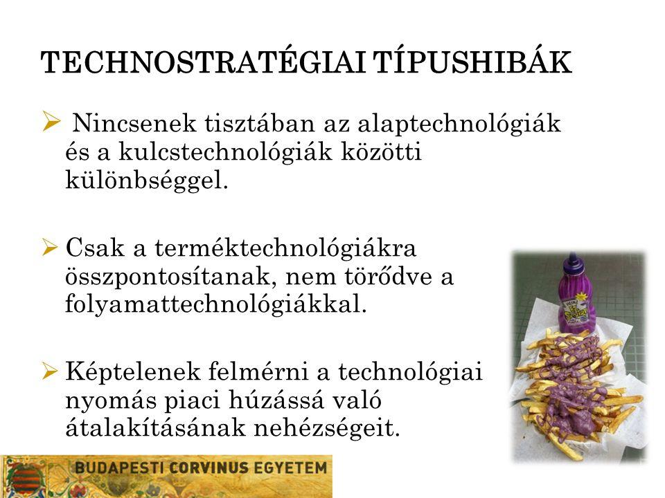 TECHNOSTRATÉGIAI TÍPUSHIBÁK