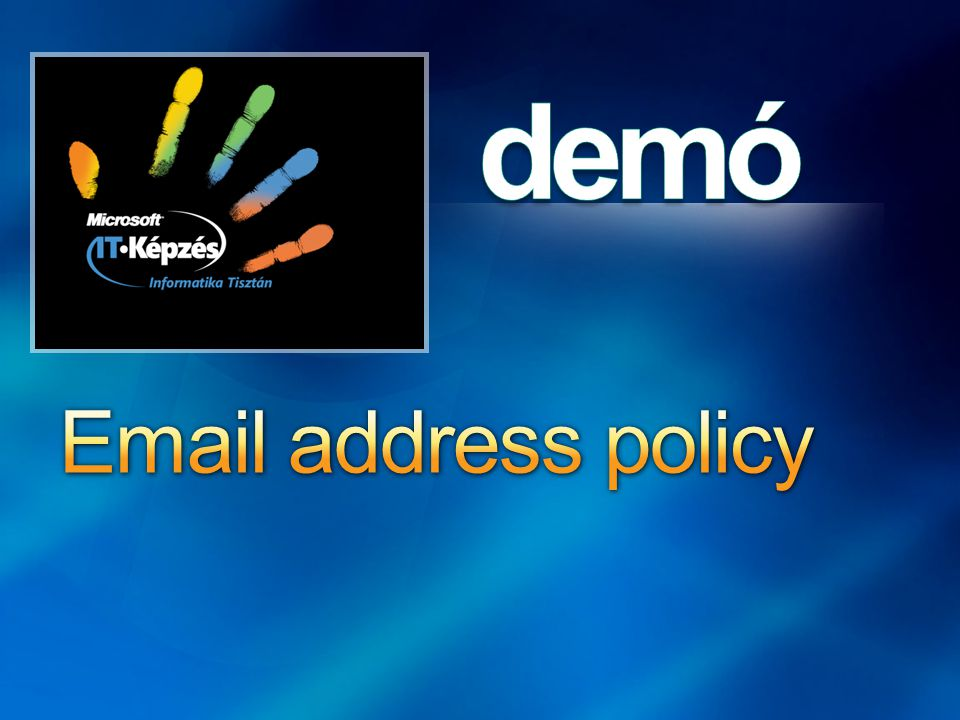 Email address policy