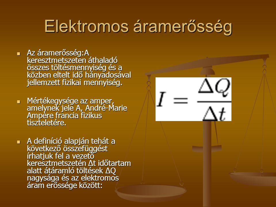 Elektromos áramerősség