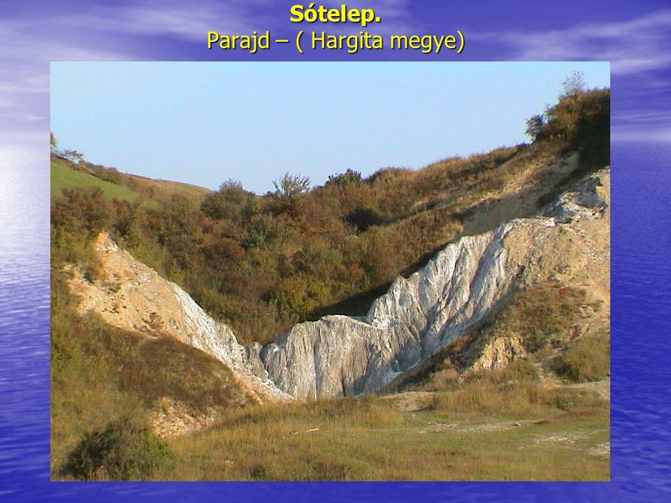 Sótelep. Parajd – ( Hargita megye)