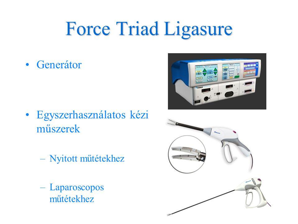 Force Triad Ligasure Generátor Egyszerhasználatos kézi műszerek