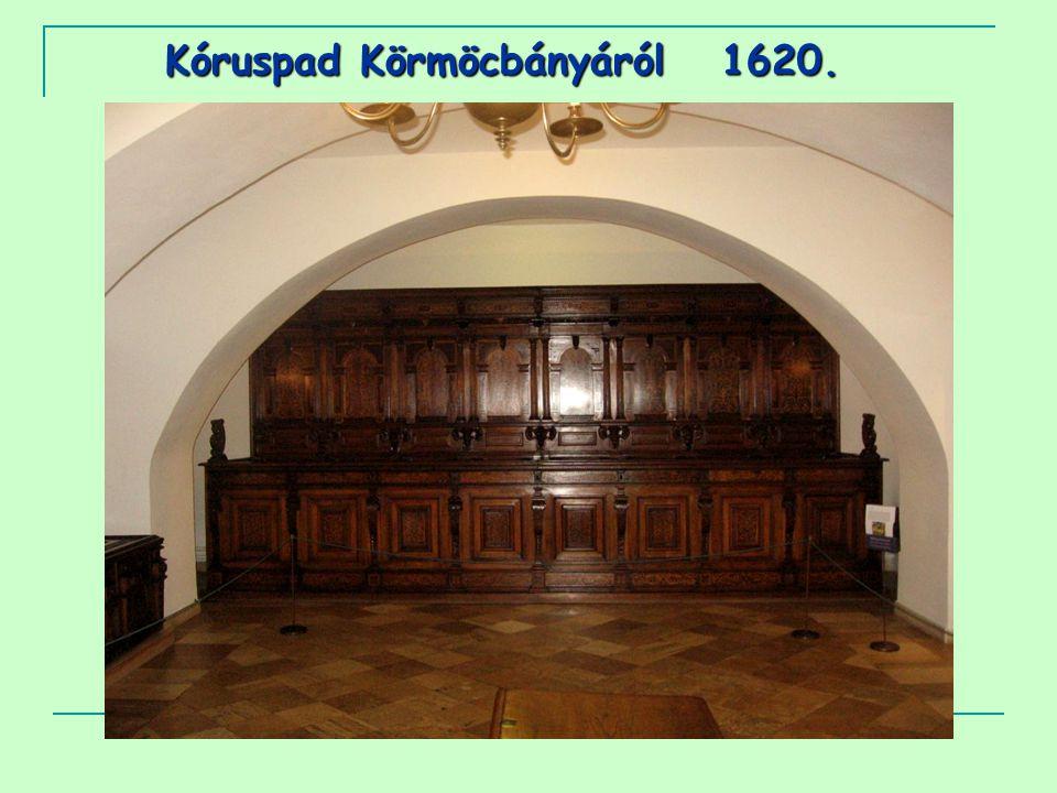 Kóruspad Körmöcbányáról 1620.