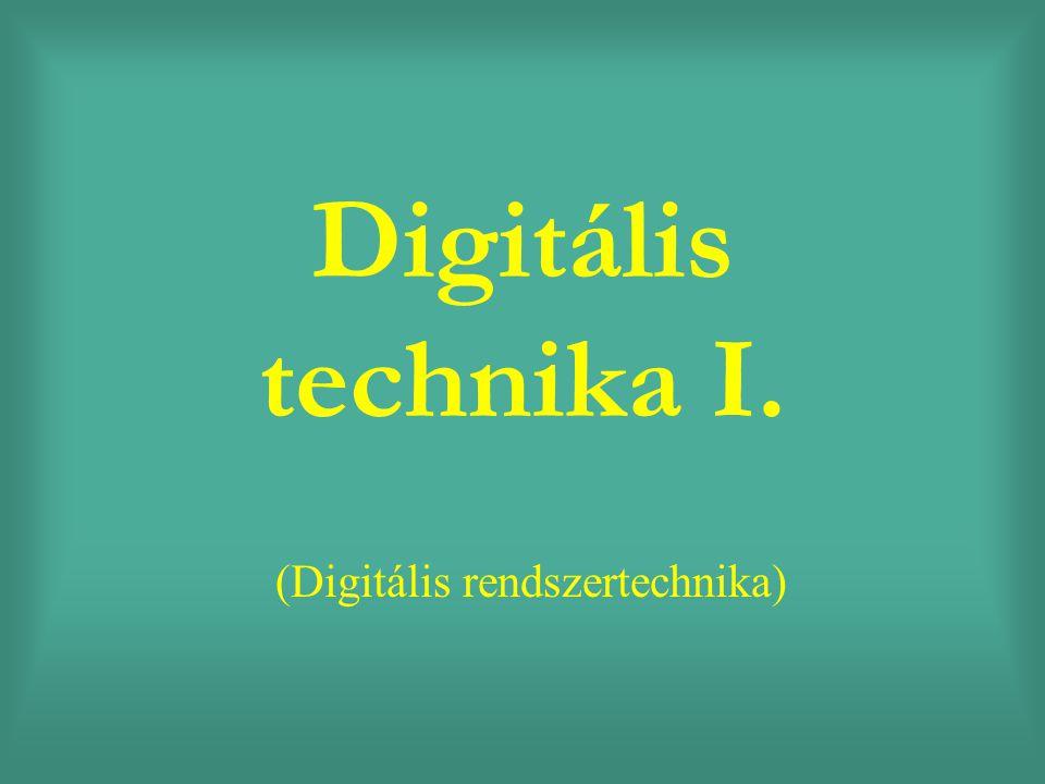 (Digitális rendszertechnika)
