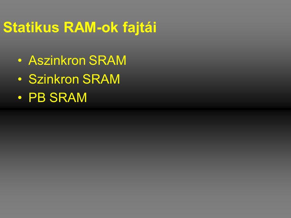 Statikus RAM-ok fajtái