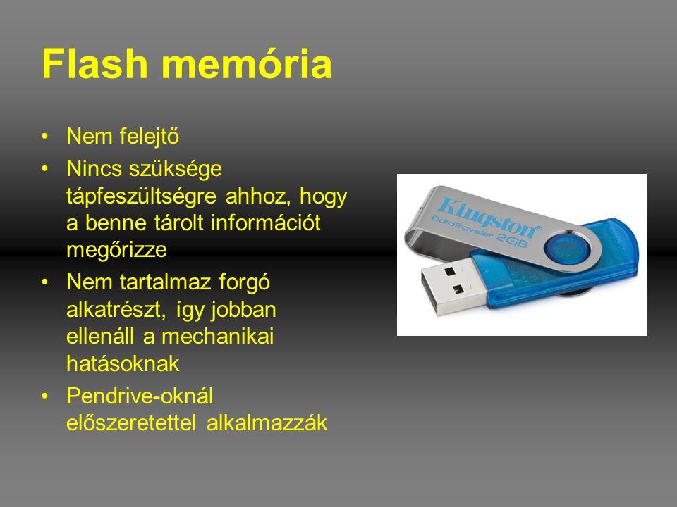 Flash memória Nem felejtő