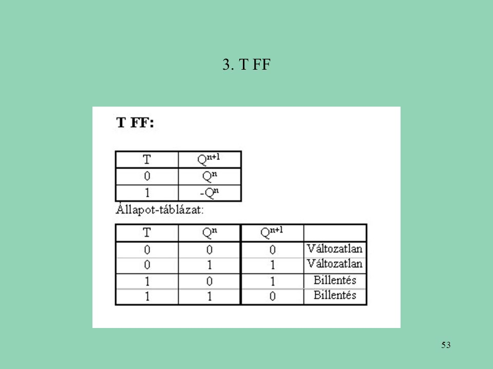 3. T FF