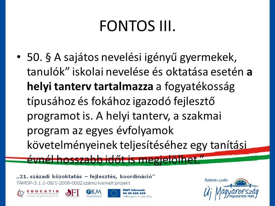 FONTOS III.