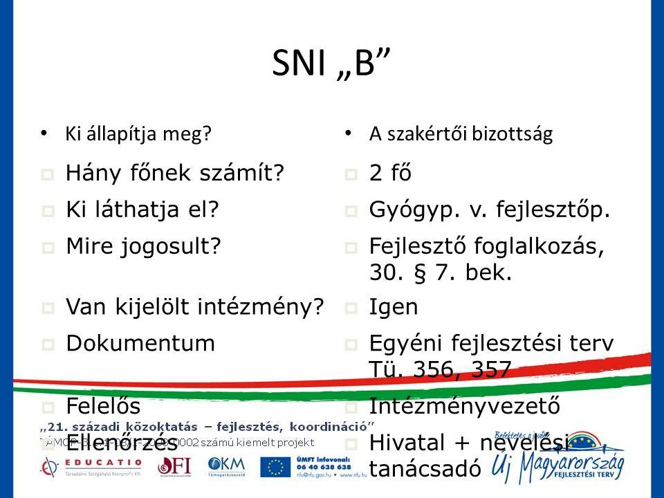 """SNI """"B Ki állapítja meg A szakértői bizottság Hány főnek számít"""