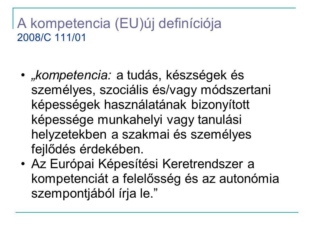 A kompetencia (EU)új definíciója 2008/C 111/01