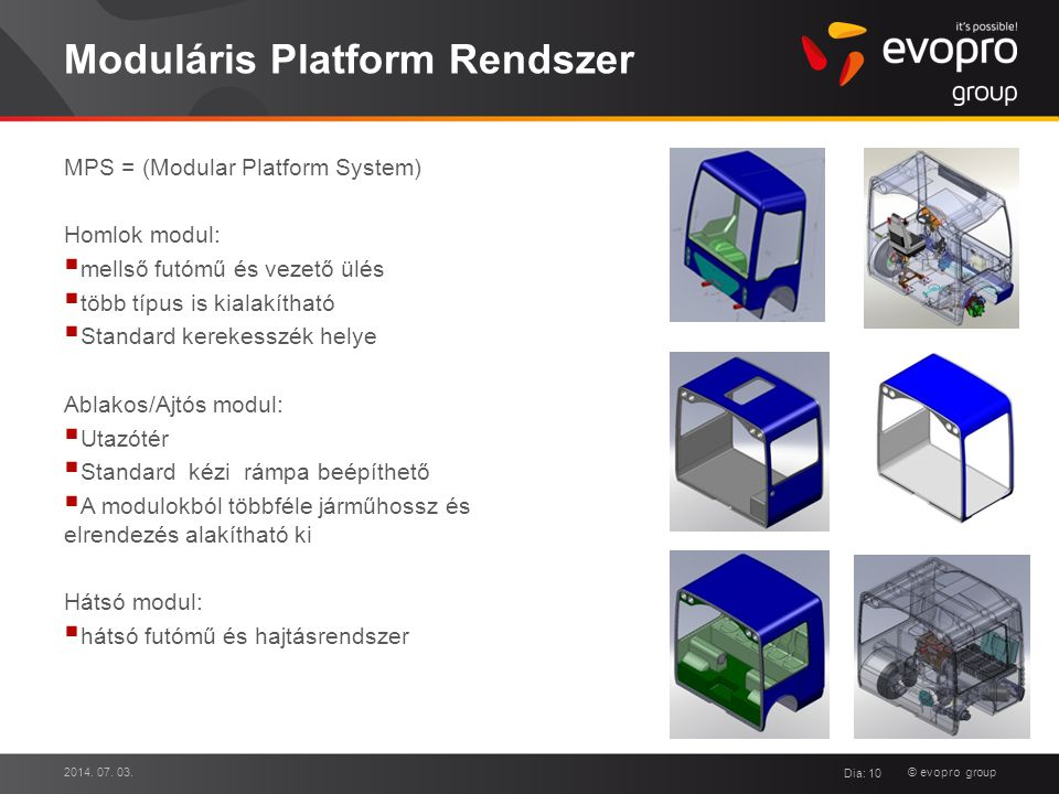 Moduláris Platform Rendszer
