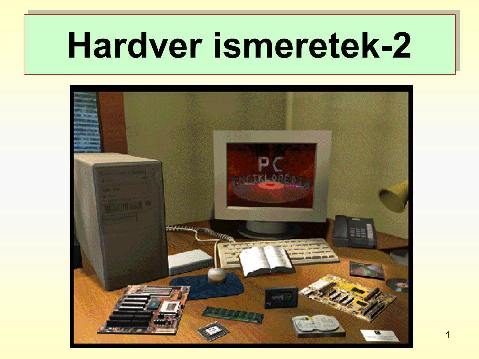 Hardver ismeretek-2