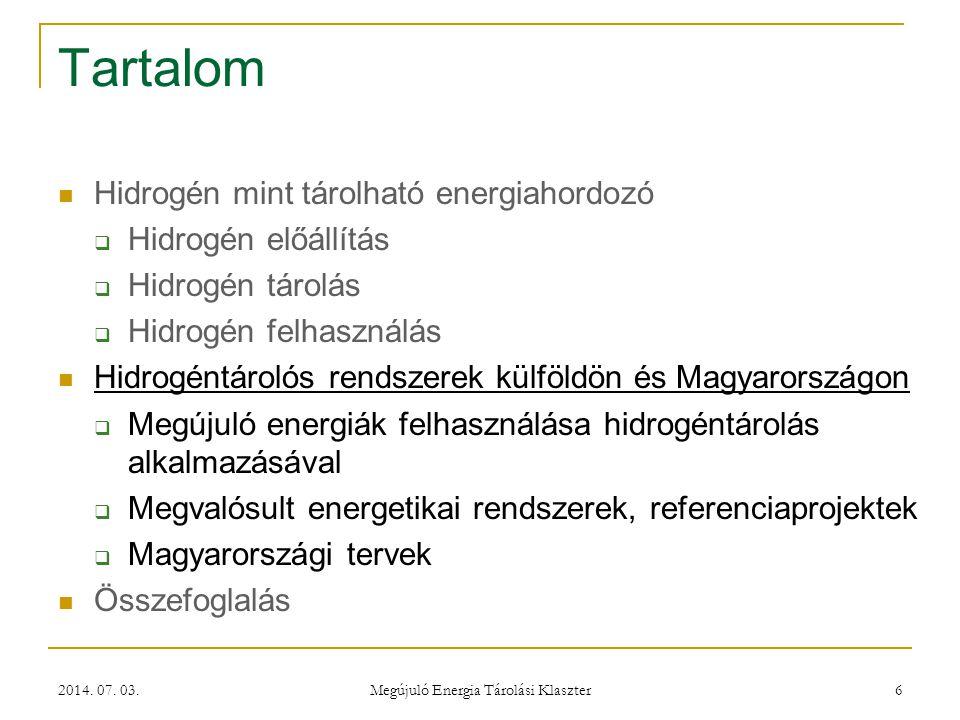 Megújuló Energia Tárolási Klaszter