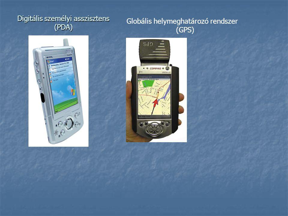 Digitális személyi asszisztens (PDA)