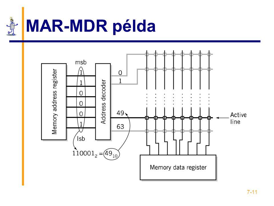 MAR-MDR példa