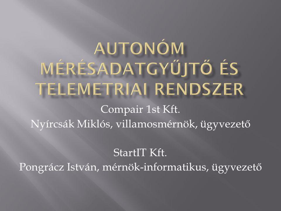 Autonóm mérésadatgyűjtő és telemetriai rendszer