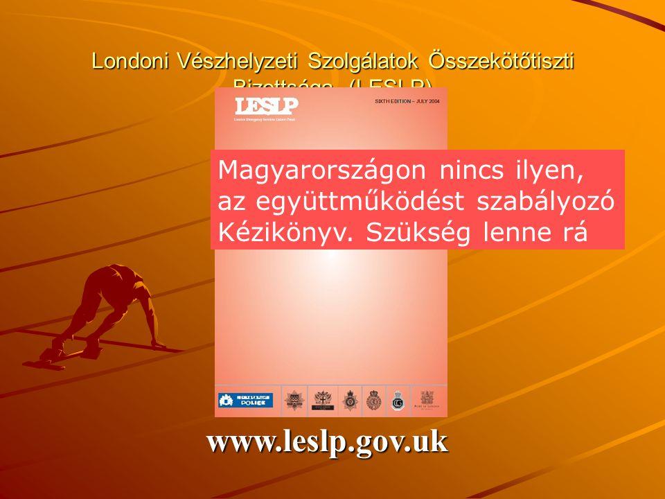 Londoni Vészhelyzeti Szolgálatok Összekötőtiszti Bizottsága (LESLP)