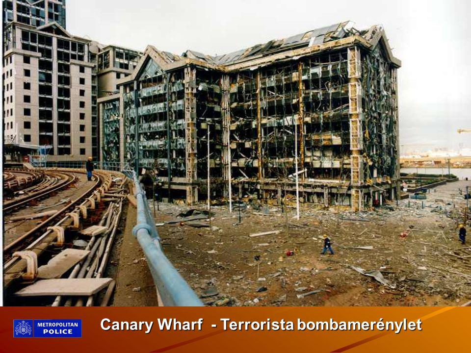 Canary Wharf - Terrorista bombamerénylet