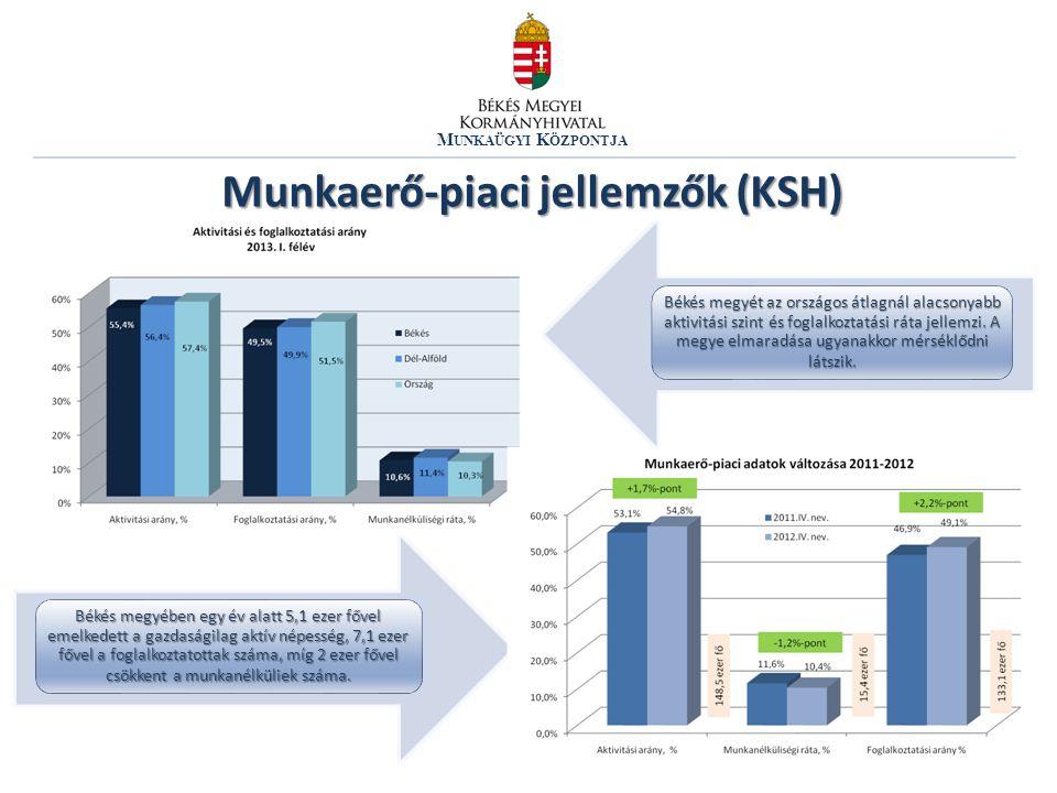 Munkaerő-piaci jellemzők (KSH)