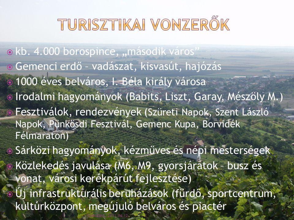 """Turisztikai vonzerők kb. 4.000 borospince, """"második város"""