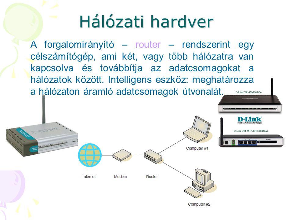 Hálózati hardver
