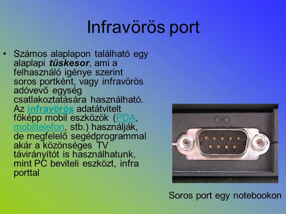 Infravörös port