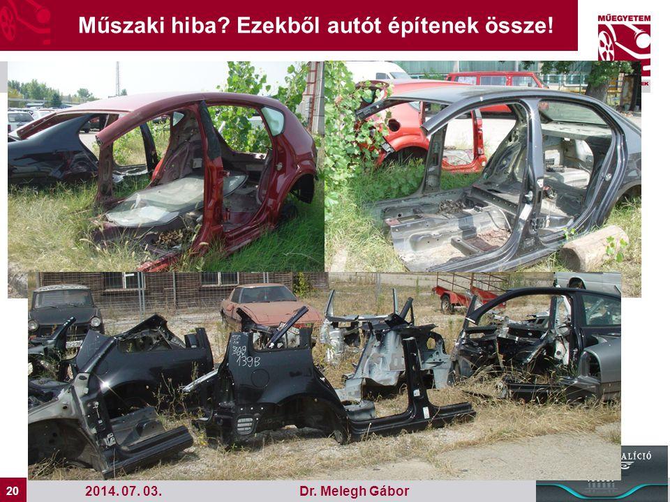 Műszaki hiba Ezekből autót építenek össze!