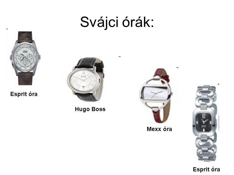 Svájci órák: Esprit óra Hugo Boss Mexx óra Esprit óra