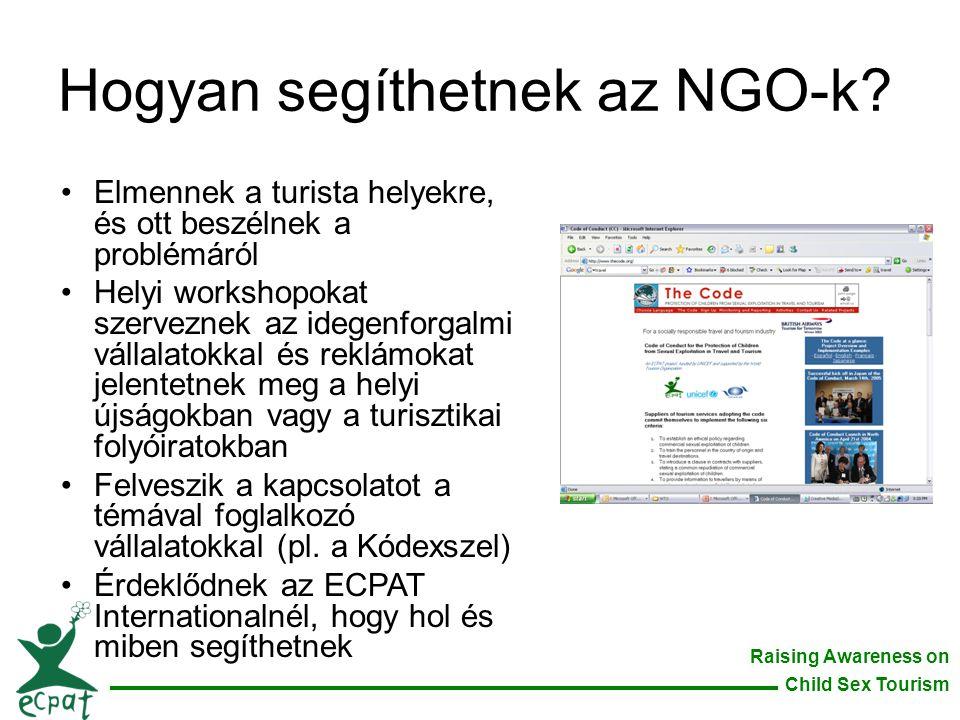 Hogyan segíthetnek az NGO-k