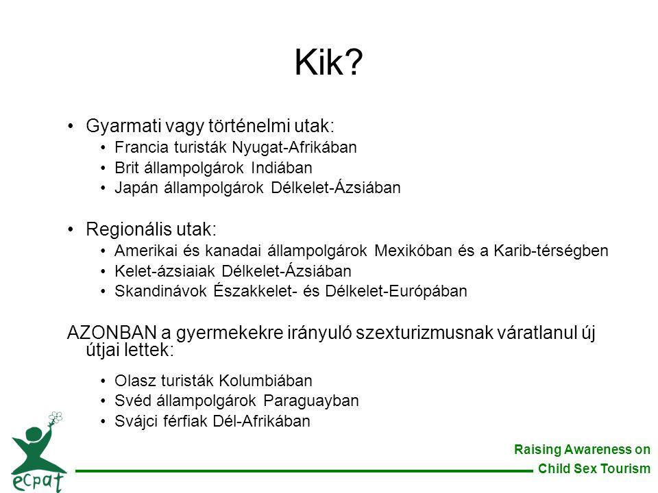 Kik Gyarmati vagy történelmi utak: Regionális utak: