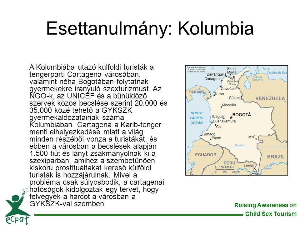 Esettanulmány: Kolumbia
