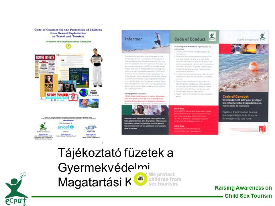 Tájékoztató füzetek a Gyermekvédelmi Magatartási Kódexről