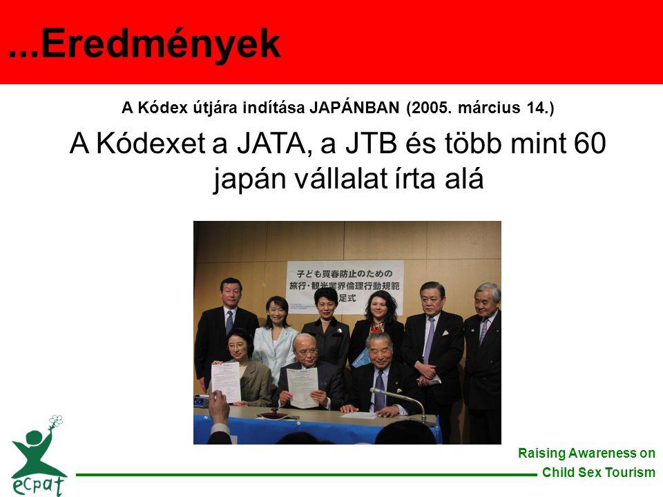 A Kódex útjára indítása JAPÁNBAN (2005. március 14.)