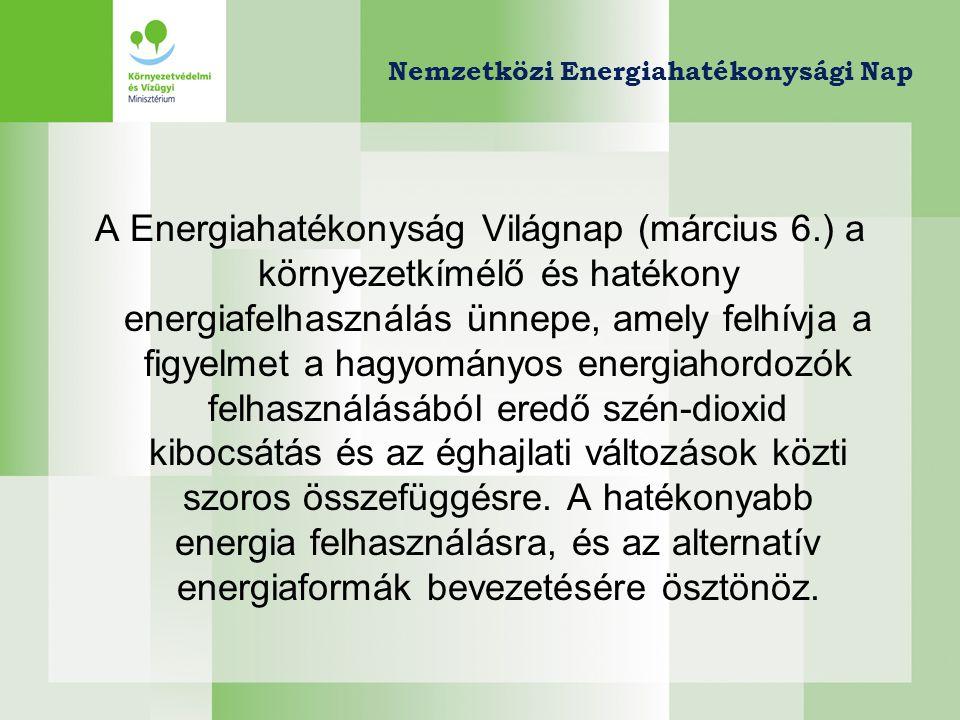 Nemzetközi Energiahatékonysági Nap