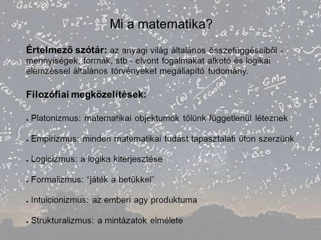 Mi a matematika