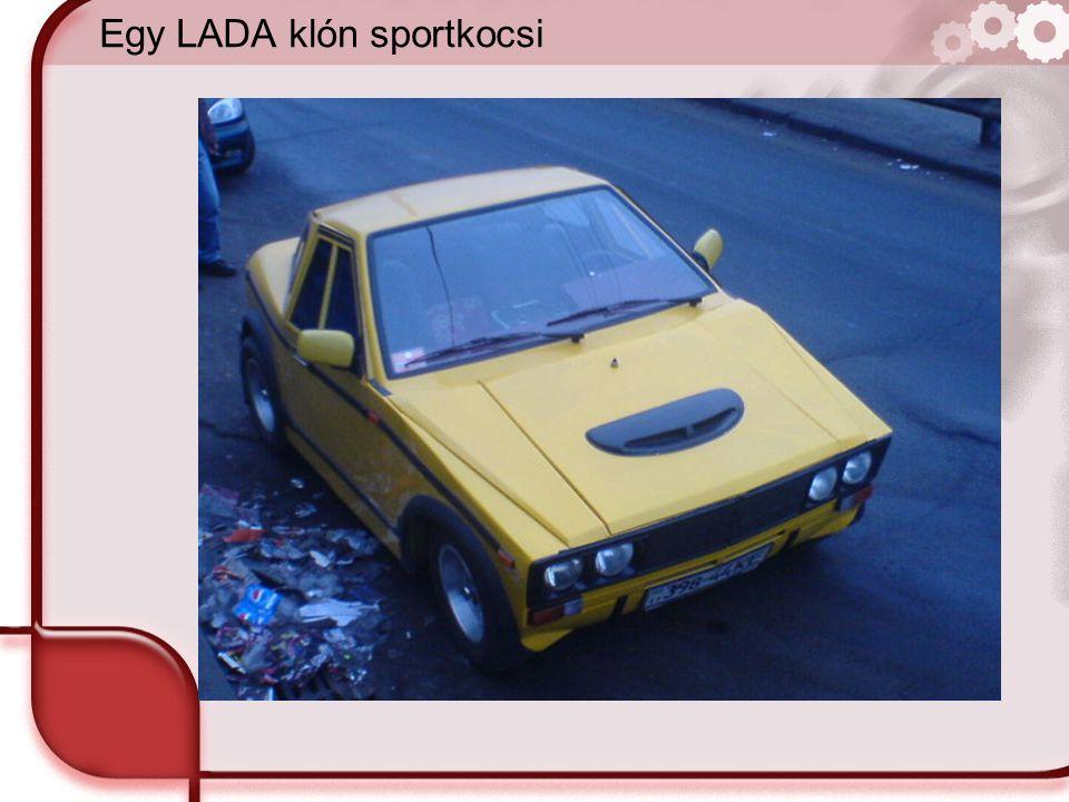 Egy LADA klón sportkocsi