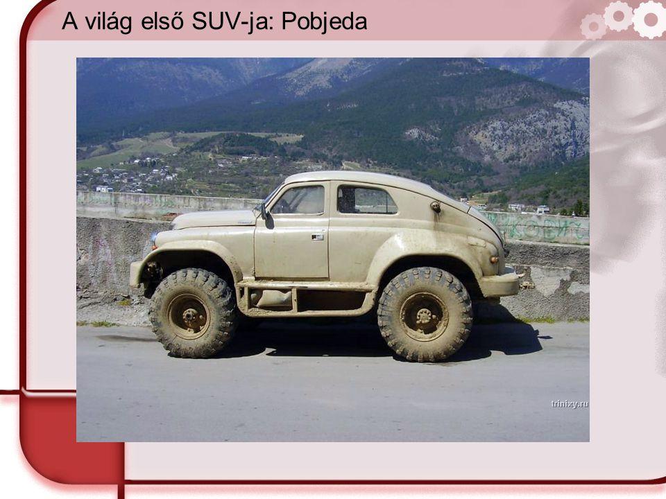 A világ első SUV-ja: Pobjeda