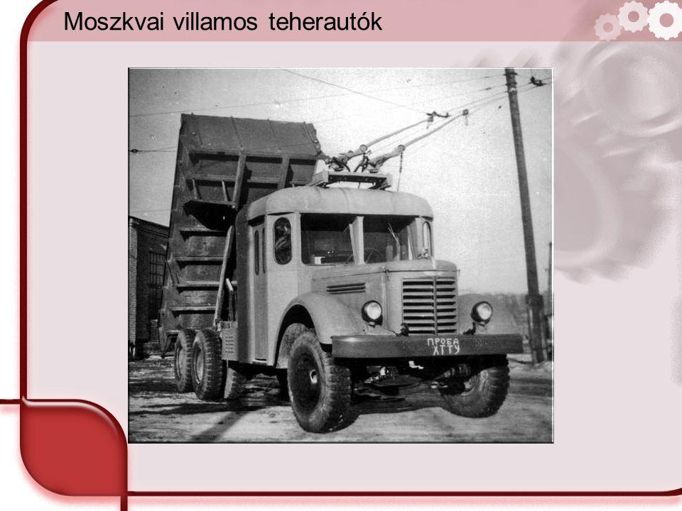 Moszkvai villamos teherautók