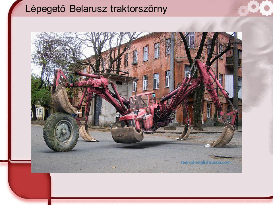 Lépegető Belarusz traktorszörny