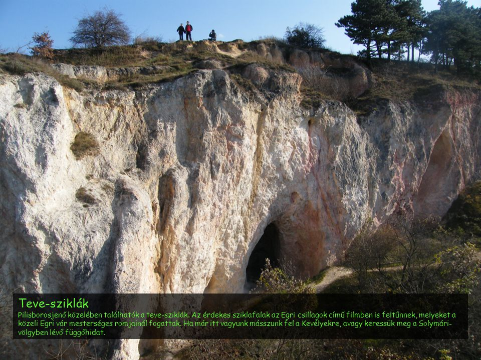 Teve-sziklák