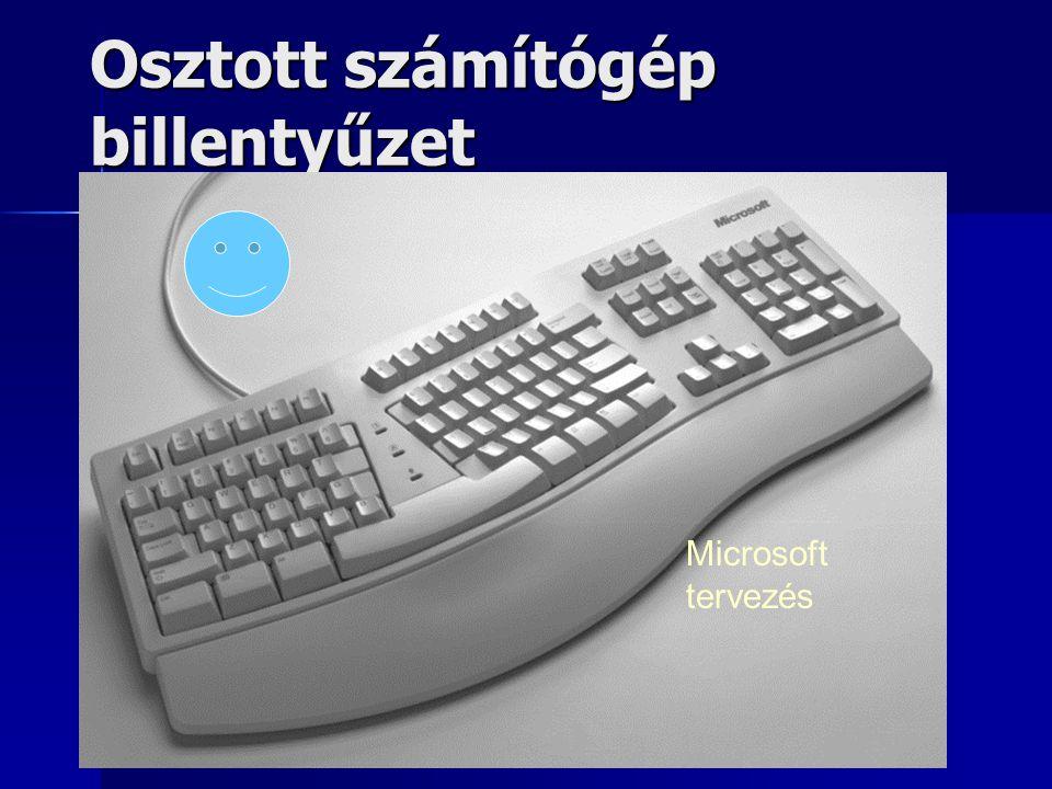 Osztott számítógép billentyűzet