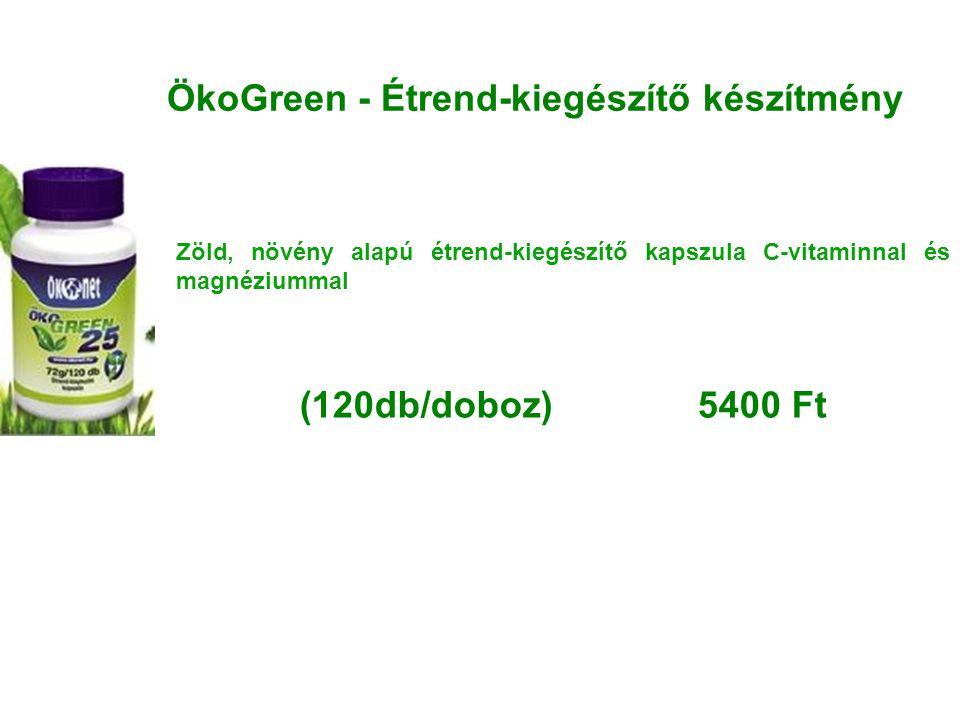 ÖkoGreen - Étrend-kiegészítő készítmény