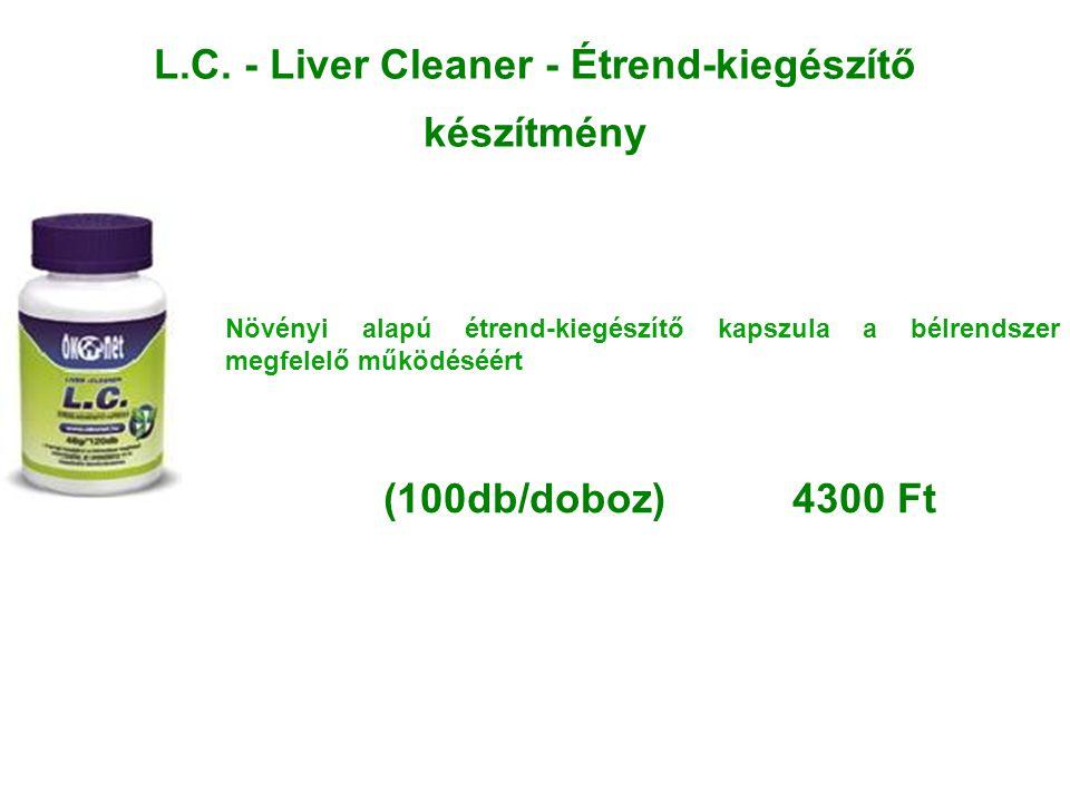 L.C. - Liver Cleaner - Étrend-kiegészítő készítmény