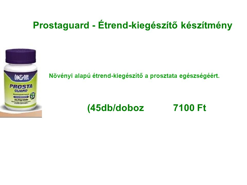 Prostaguard - Étrend-kiegészítő készítmény