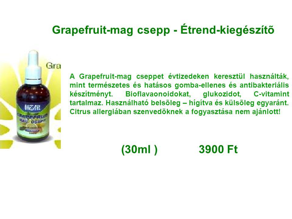Grapefruit-mag csepp - Étrend-kiegészítõ