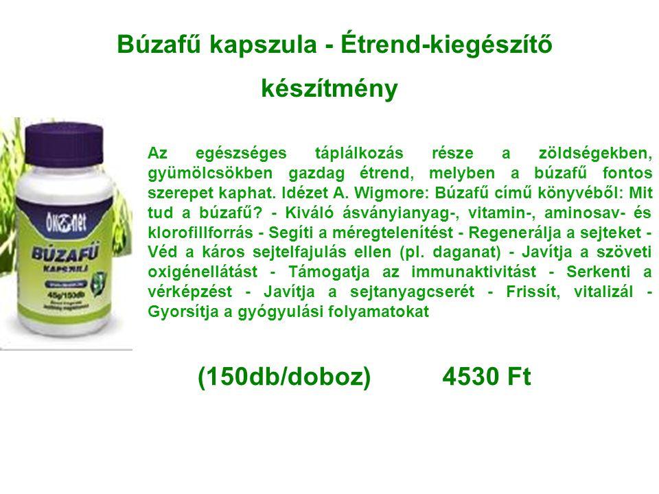 Búzafű kapszula - Étrend-kiegészítő készítmény