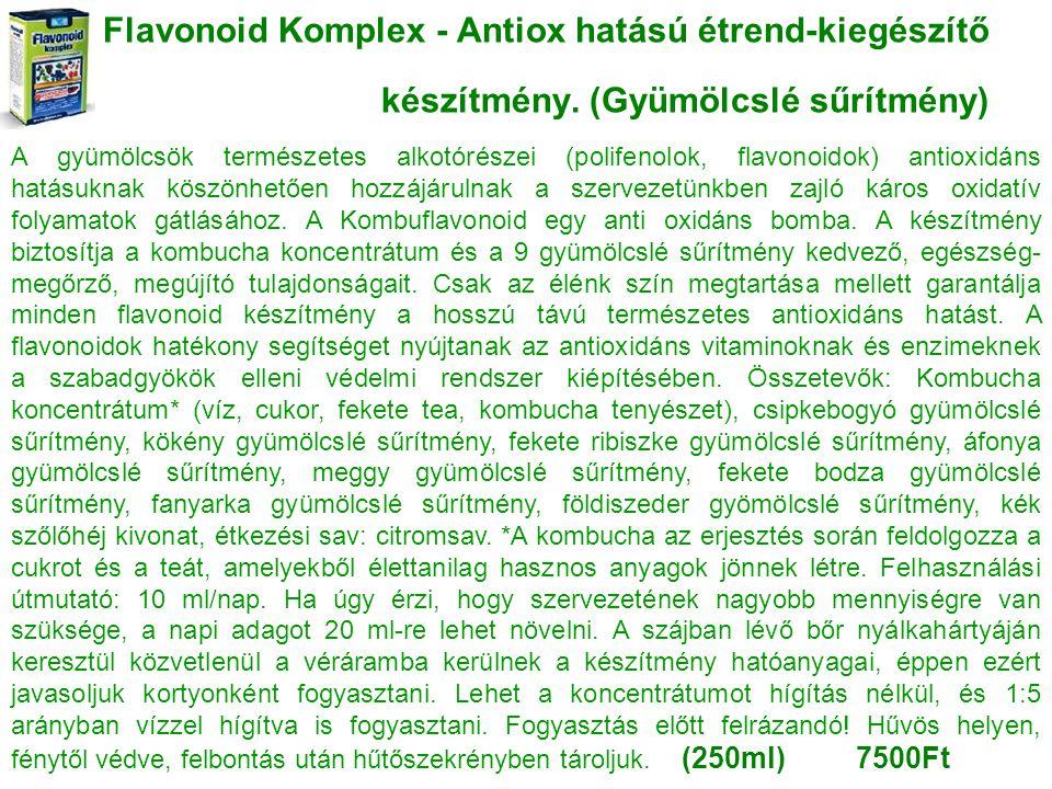 Flavonoid Komplex - Antiox hatású étrend-kiegészítő készítmény